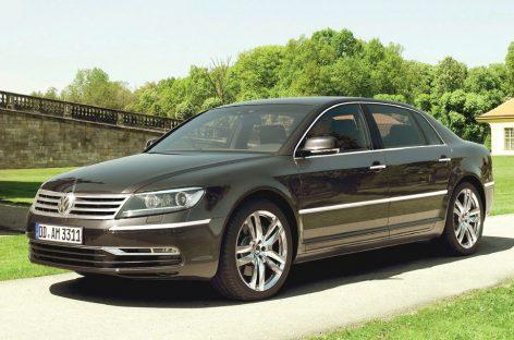 Volkswagen Phaeton популярен среди силовиков и прокуроров