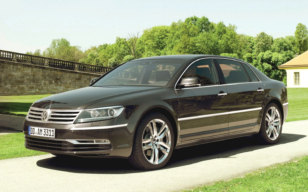 Volkswagen Phaeton I рестайлинг