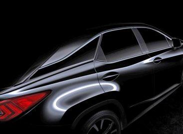 Lexus показал превью-картинку кроссовера RX нового поколения