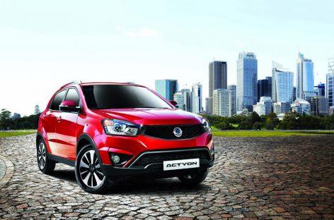 SsangYong снижает цены на автомобили 2014 года
