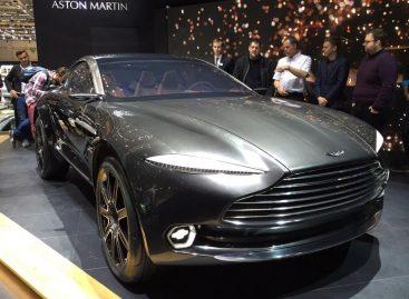 Концепт GT кроссовера Aston Martin DBX