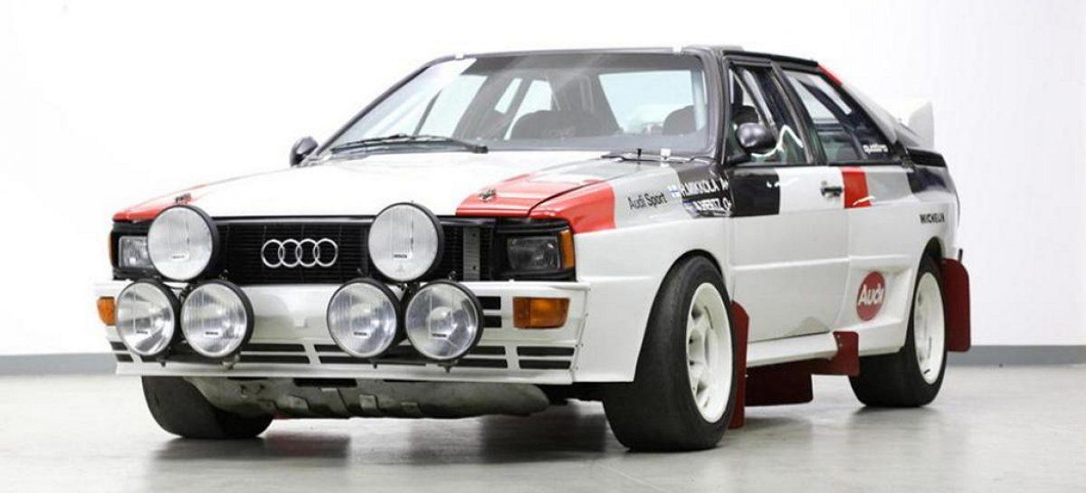 С молотка уходит раллийный герой 80-ых – Audi Quattro A1