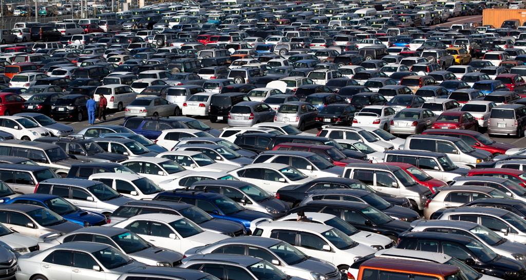 Рынок легковых автомобилей с пробегом по федеральным округам
