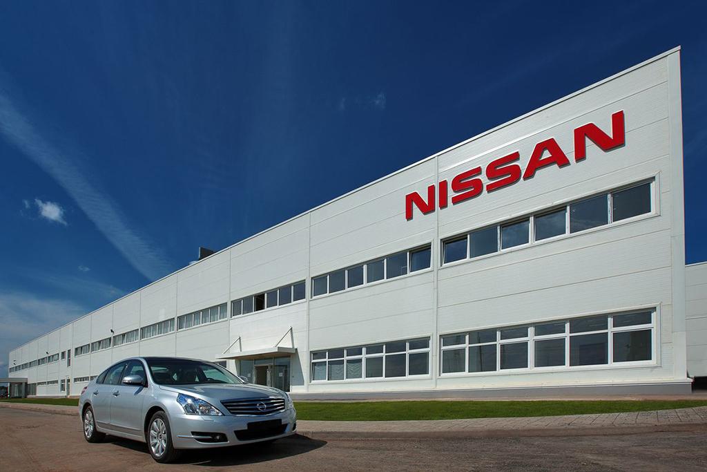 Автозавод Nissan в Санкт-Петербурге