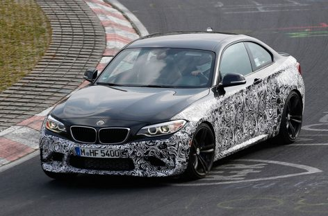 Шпионы выловили BMW M2 купе