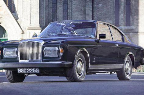Bentley T-Series Coupe Speziale 1968 – сборка от британцев, кузов от итальянцев