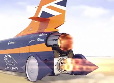 Инженеры Bloodhound SSC протестировали баллистические панели