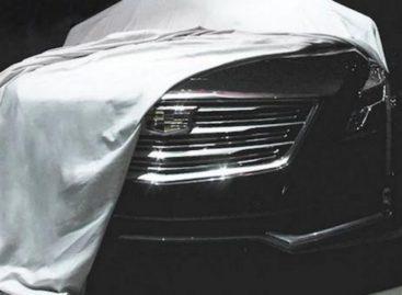 Очередной тизер флагманского Cadillac CT6 – наконец, последний