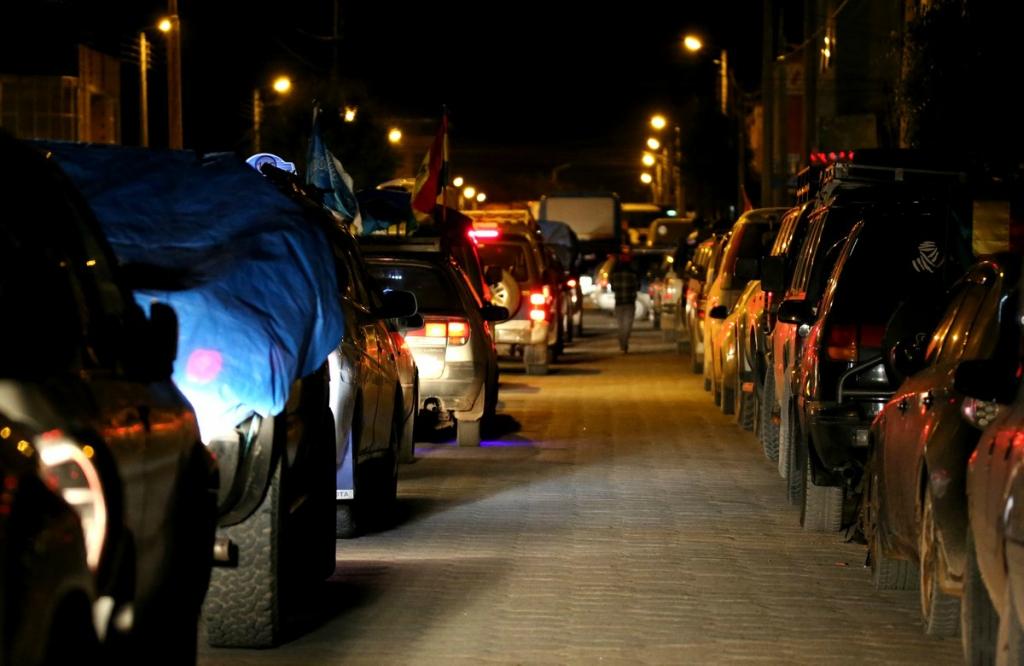 Трафик в Уюни