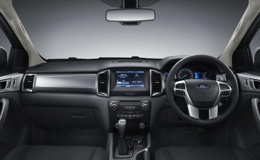 Ford Ranger 2015 рестайлинг