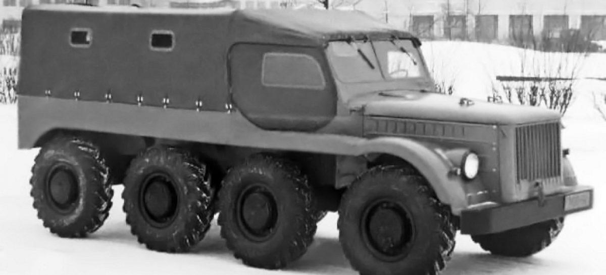ГАЗ 62-Б – экспериментальный предтеча БТР-60