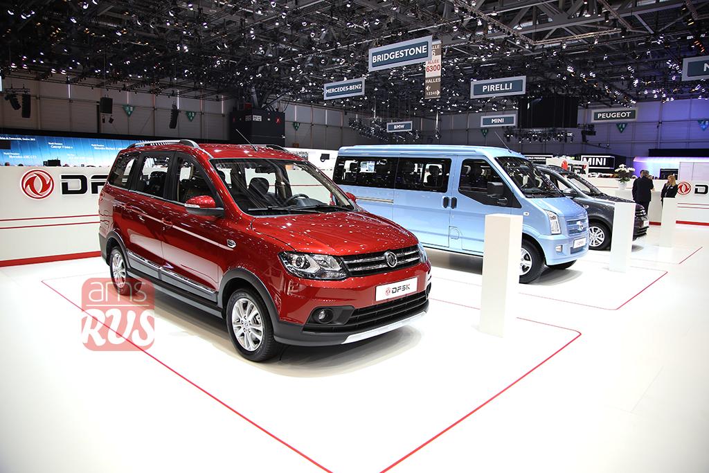 Китайские автомобили на автосалоне в Женеве