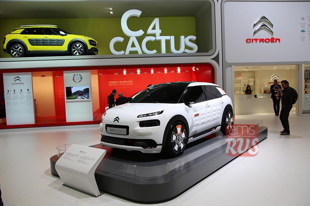 В модель Cactus инсталлирована технология аэрогибрида Hybrid Air