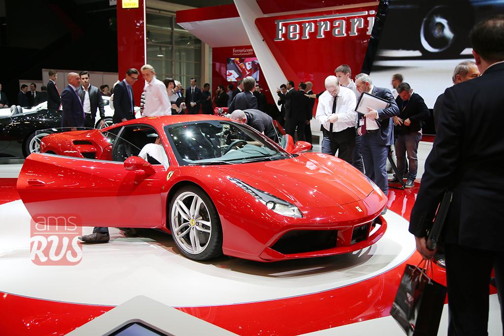 Ferrari на Женевском автосалоне