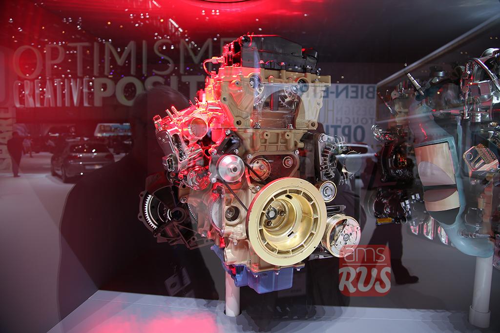 Трехцилиндровый двигатель Citroen