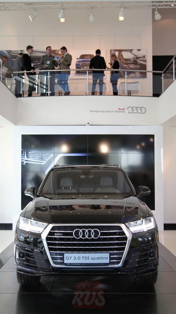 Российская премьера Audi Q7 2015 рестайлинг