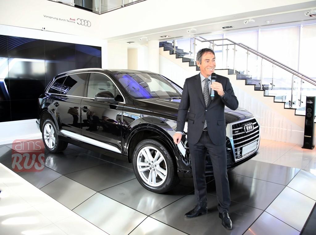 Ахим Заурер Achim Saurer глава Audi Russia