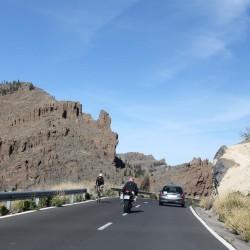 Автомобильное восхождение к вулкану Эль Тейде