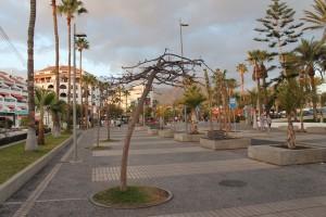 Популярный курорт Playa de las Americas