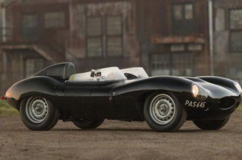 Jaguar D-Type 1955 года и еще 5 ретроавтомобилей, от которых захватывает дух