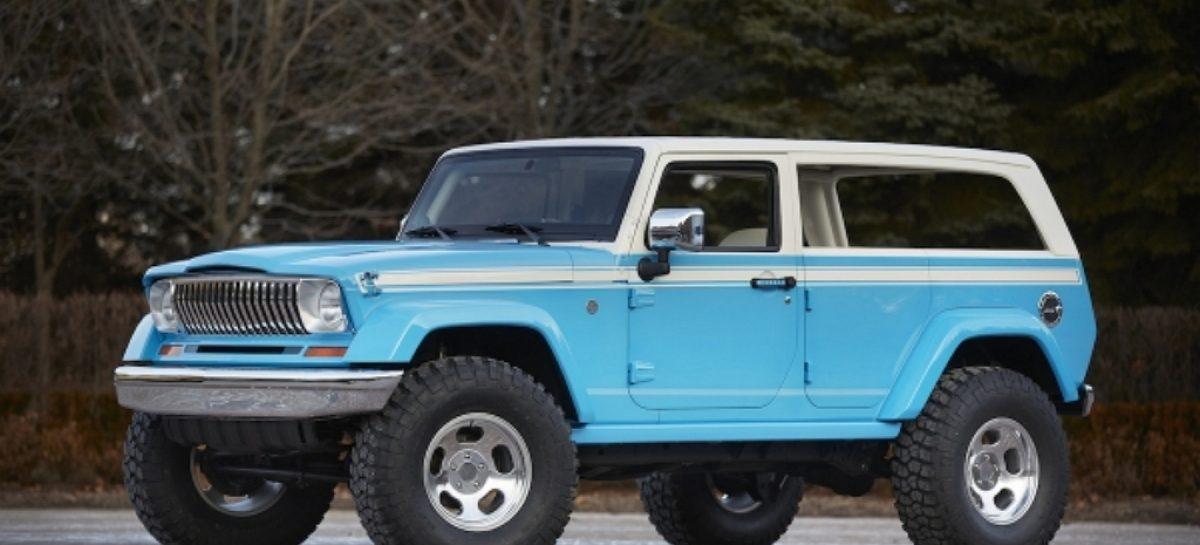 Jeep показал новые концепты к Пасхальному сафари