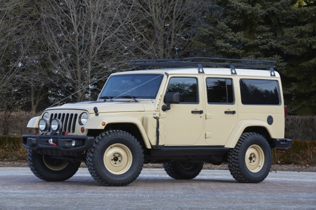 Концепт Jeep Wrangler Africa