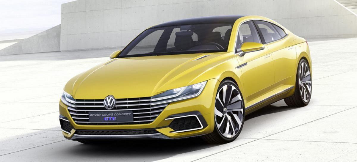 VW смотрит в будущее с концептом спортивного купе GTE