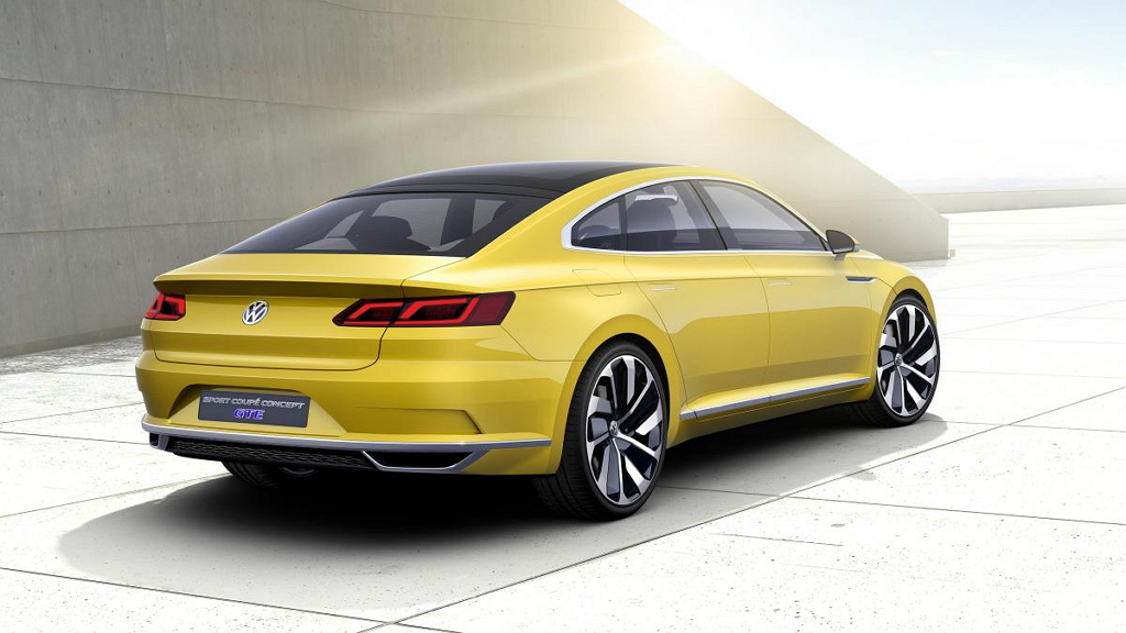 Концепт VW Sport Coupe GTE