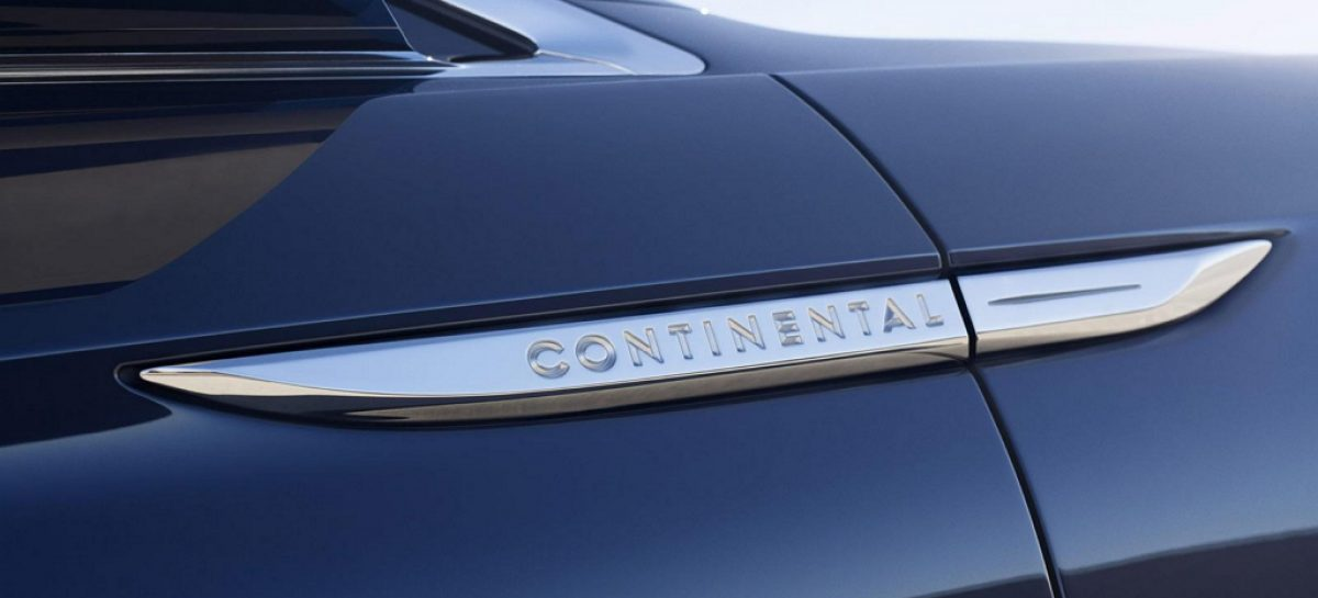 Lincoln возрождает Continental