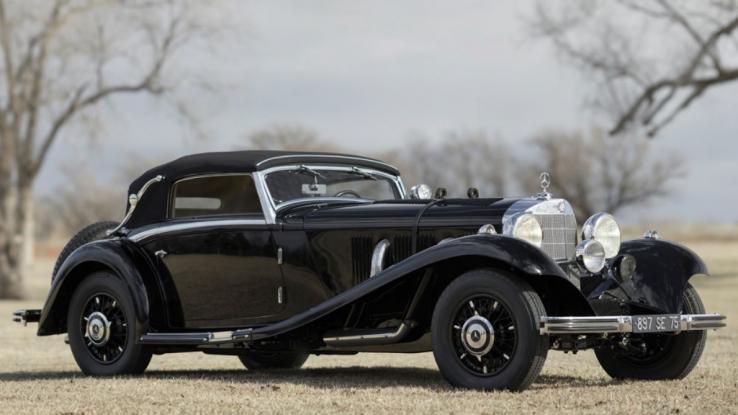 Mercedes-Benz 500_540 K Cabriolet A by Sindelfingen 1935