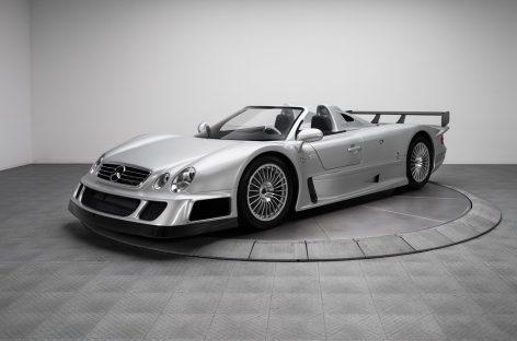 Mercedes-Benz CLK GTR 2002 и другие раритеты от RK Motors