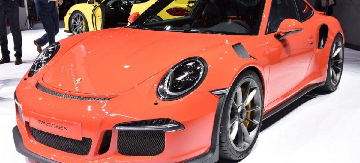 В Женеве показали самый экстремальный Porsche 911 – GT3 RS с 493 л.с.