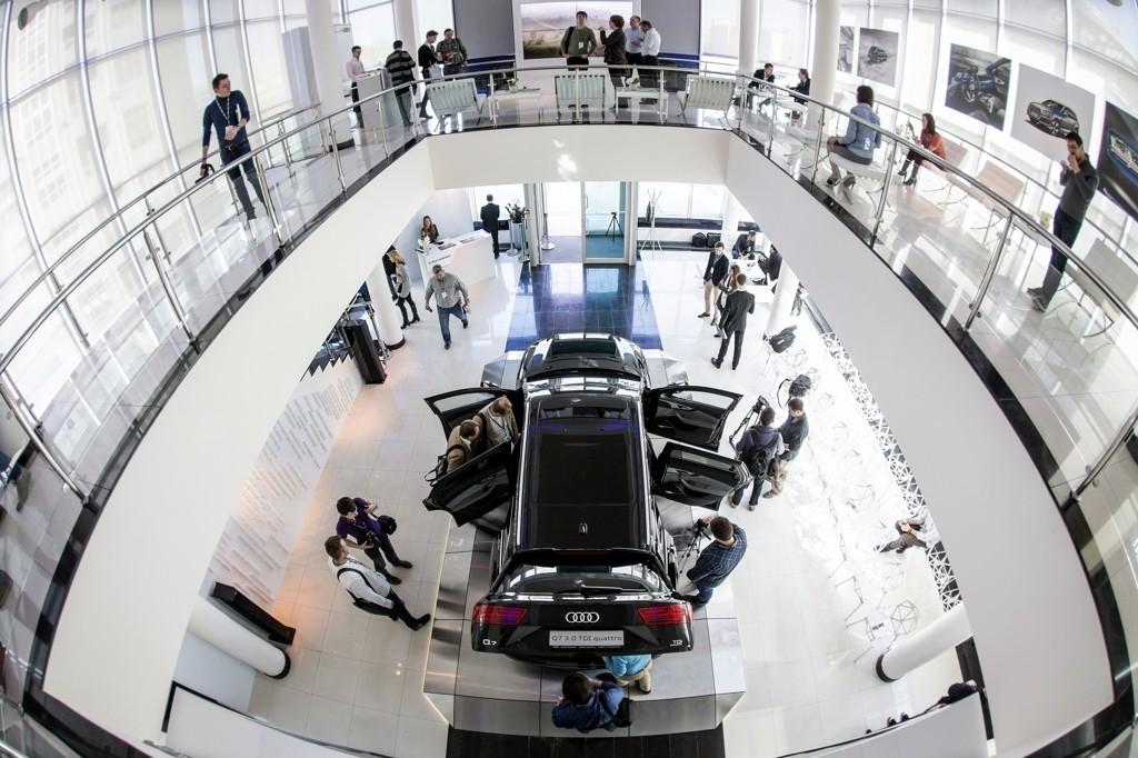 Audi Q7 Russian Premiere