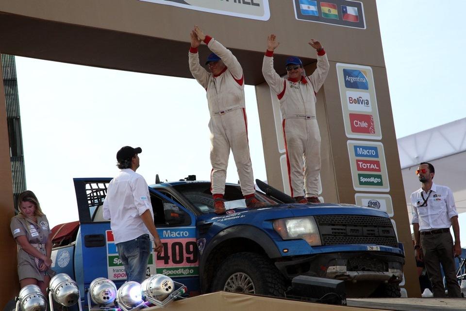 Ралли Дакар 2015 Ford Raptor