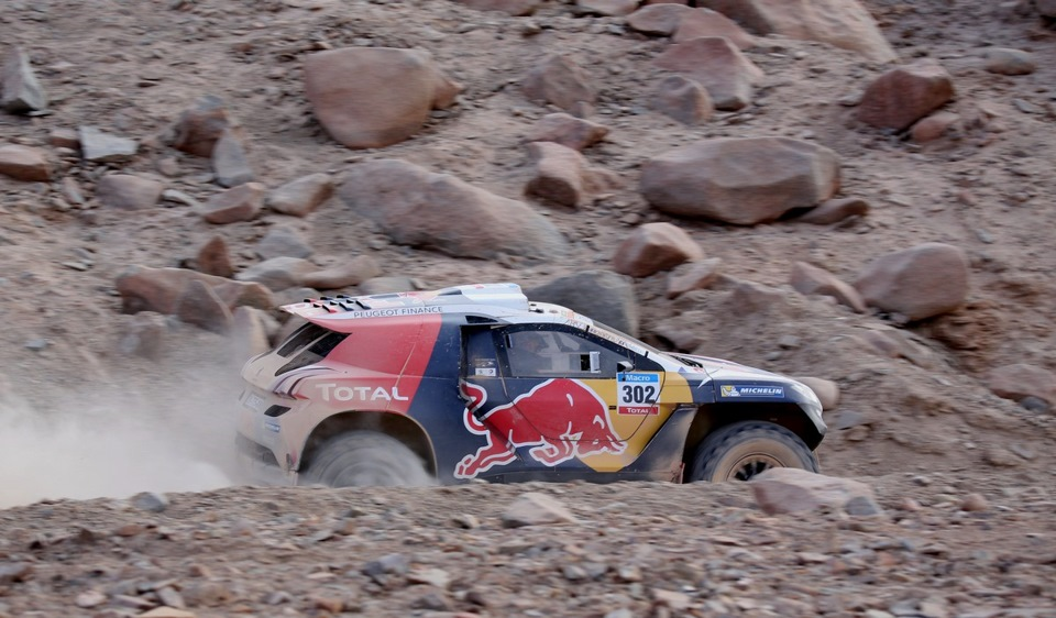Ралли Дакар 2015 Peugeot