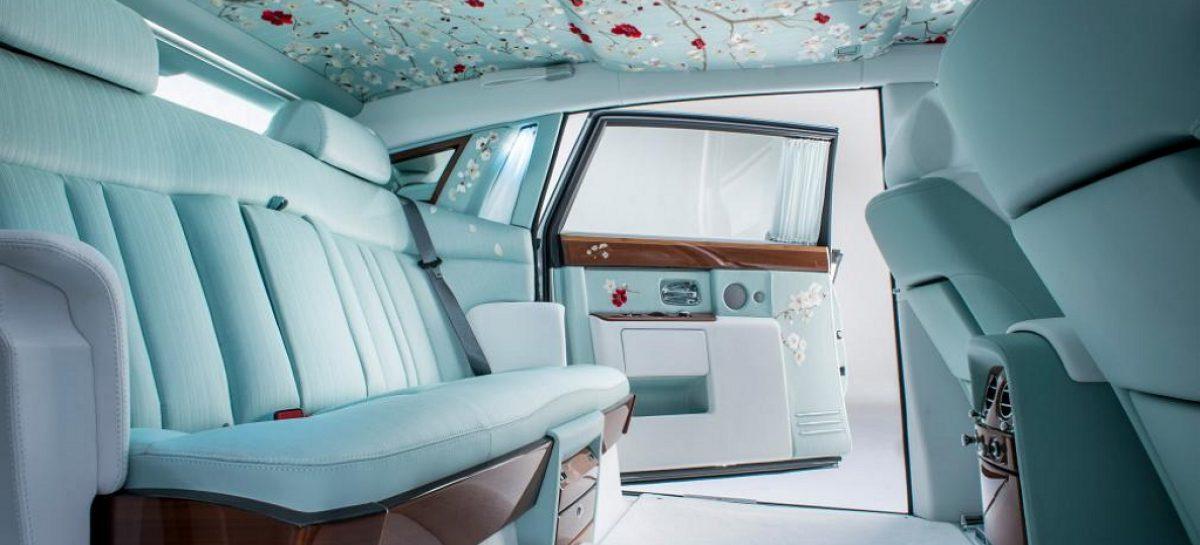 Rolls-Royce показал шелково-цветастый Phantom