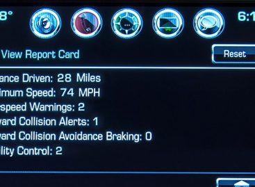 На Chevrolet Malibu 2016 дебютирует система Teen Driver