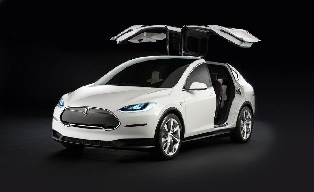 Tesla Model X рендер
