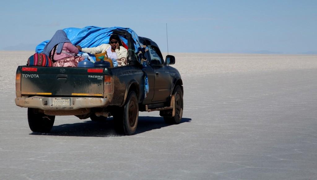 Toyota в Боливии