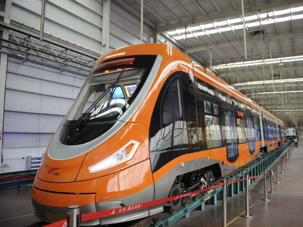 Водородный трамвай CSR Sifang