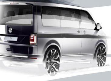 Volkswagen опубликовал первый тизер шестого поколения Transporter