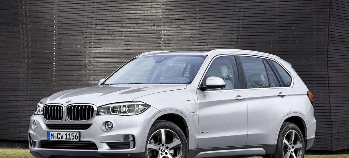 X5 xDrive40e – первый серийный плагин-гибрид BMW без шильдика i