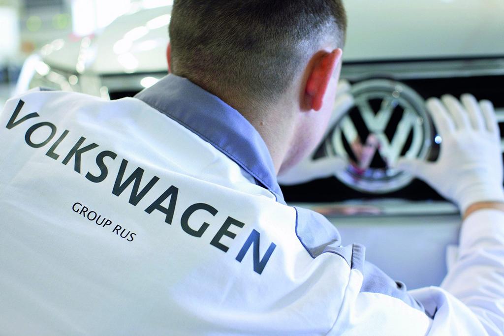 Завод Volkswagen Group в Калуге