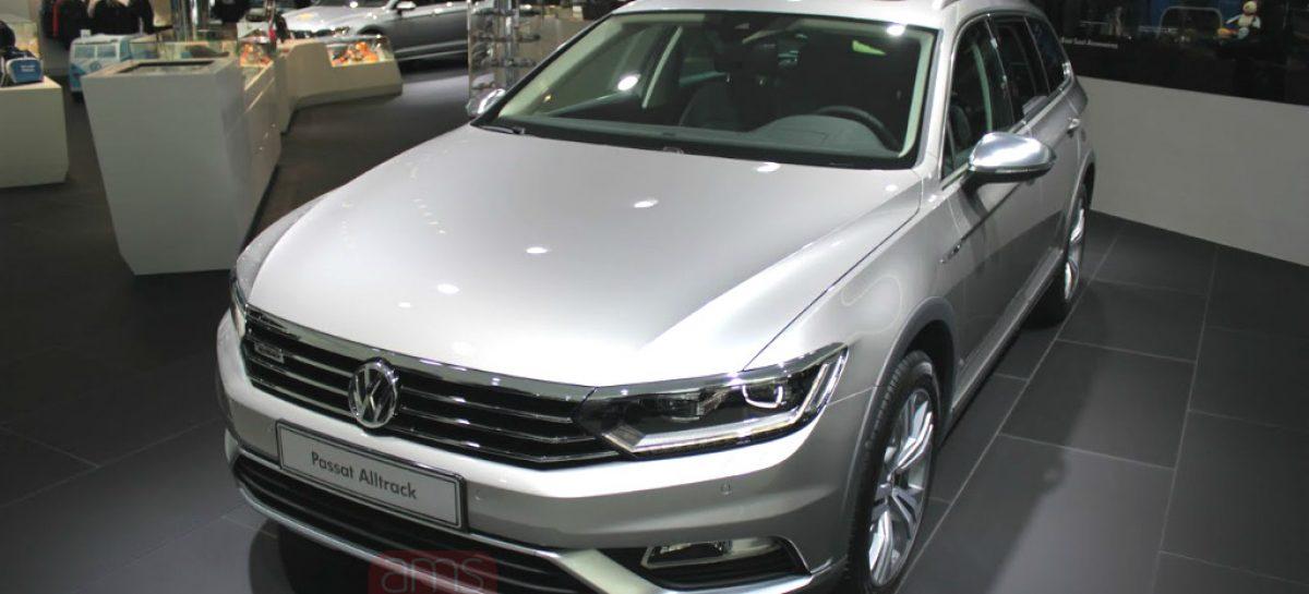 Volkswagen показал вседорожный универсал Passat