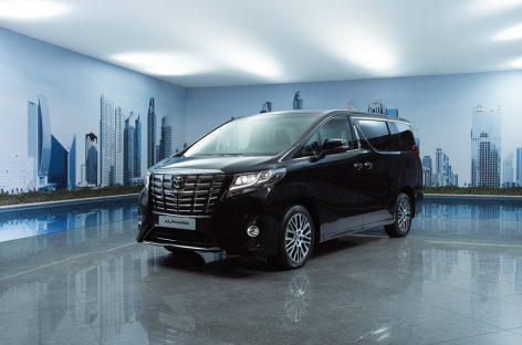 Новое поколение Toyota Alphard скоро в России