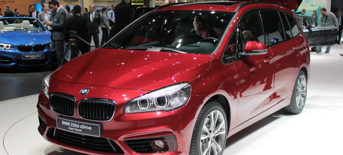 Первый семиместный компактвэн от BMW