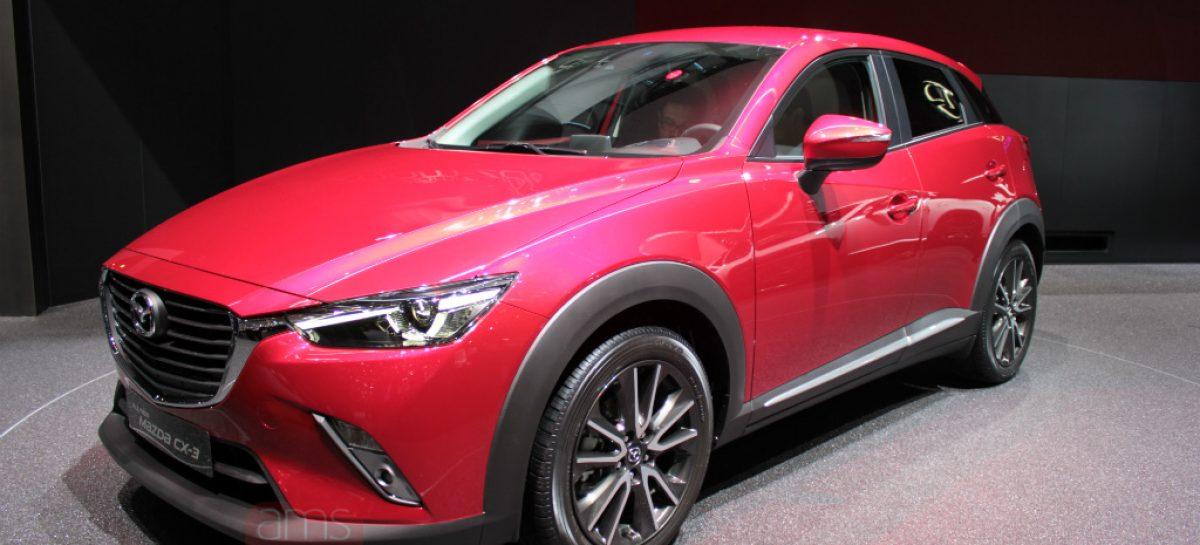 Mazda входит в сегмент компактных кроссоверов