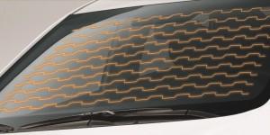 Имитация обогрева лобового стекла