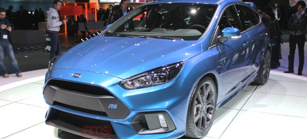 Новый Ford Focus RS теперь с полным приводом