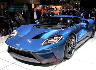 Возрожденный Ford GT – суперкар мощность более 600 л.с.